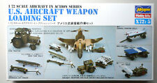 Us Aircraft Weapons Detail Plastic 1:72 Scale Hasegawa Model Kit Diorama 35005