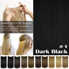 Stressless Elastic Headband Secret Wire In Hair Extensions As Human Hair A78