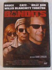 DVD BANDITS - Bruce WILLIS / Kate BLANCHETT / Billy Bob THORNTON - NEUF