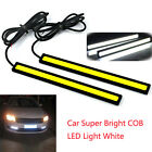 2x Super Bright COB Car White LED Lights 12V For DRL Fog Driving Lamp Waterproof