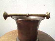 Mortero De Bronce Antiguo Victoriano 2810 gramos