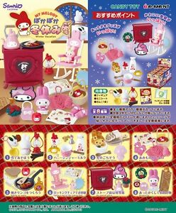 Re-Ment Miniature Sanrio My Melody Winter Vacation Full set of 8 pcs Rement RARE