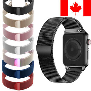Milanese Stainless Loop Band Magnetic Strap for Apple Watch Series 1 2 3 4 5
