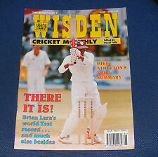 WISDEN CRICKET MONTHLY JUNE 1994 - THERE IT IS! BRIAN LARA'S WORLD TEST RECORD