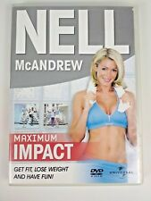 "Nell McAndrew ""Maximum Impact"" DVD ~ Get fit, Lose Weight and Have Fun 1 hr. 20m"