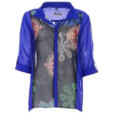 "Gorgeous Desigual 3/4 Sleeve Shirt Top, S(Chest 40""), NWT"
