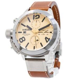 U-Boat Men's Automatic Classico 50MM Tungsteno CAS 2 Watch 7433/A
