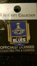 2019 Stanley Cup Champions Banner Lapel Pin St. Louis Blues