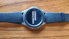 Samsung Galaxy Watch SM-R800 46mm Silver Case Classic Buckle Onyx Black -...