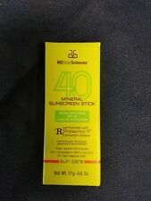 NIB MDSolarSciences Mineral Sunscreen Stick SPF 40 0.6 oz. Fresh!