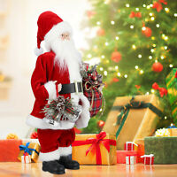"""11-24"""" Santa Claus Christmas Standing Figure Doll Table Decors Ornaments Gifts"""
