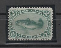 I3584/ CANADA – NEWFOUNDLAND – SG # 31 MINT NO GUM – CV 150 $