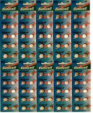 ENVOI AVEC SUIVI - Eunicell 100 Piles AG10 LR54  D389 D39 SR1131 SR54 SR1130SW