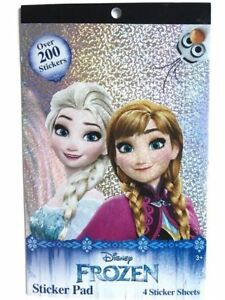 200+ Stickers Disney Frozen Elsa Anna Reward Party Favor NEW
