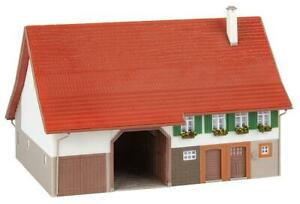 Faller 191744 Farmouse Incl. Stall And Barn 180 x 140 X 115 MM New Boxed