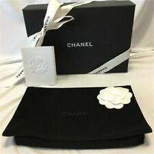 CHANEL WOC Wallet on Chain Empty Box w/ Velvet Dust Bag, Ribbon & Camellia