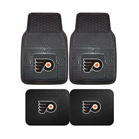 Philadelphia Flyers NHL 2pc and 4pc Mat Sets - Heavy Duty-Cars, Trucks, SUVs