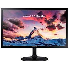 "Samsung - SF350 Series S19F350HNN 19"" LED HD Monitor - High glossy black"