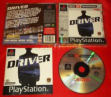 DRIVER 1  Ps1 Versione Ufficiale Italiana Best Of ○ COMPLETO - C4