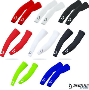 Arm Sleeve UV Sun Protection Breathable Elasticated Cuff Cycling Outdoor Running