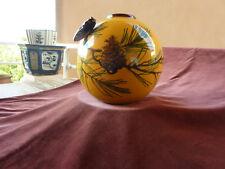gros vase boule saint jean du désert par Berty diamètre 24 cm