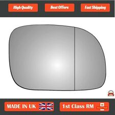 Chrysler Grand Voyager 96-07 Right Driver wide angle wing mirror glass 10RAS