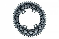 Absolute Black Road Oval Chainring - Dura Ace R9100 & Ultegra R8000