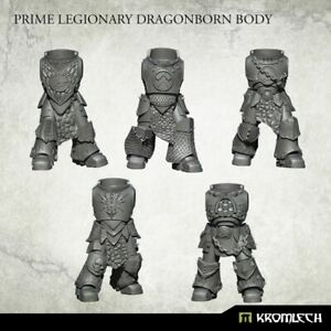 Kromlech Dragonborn Prime Bodies (5) Brand New KRCB236