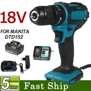 Replace for Makita DHP453Z 18V LXT Cordless 13mm 45Nm  Drill /Charger/ Battery