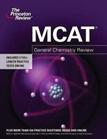 MCAT General Chemistry Review Paperback Princeton Review
