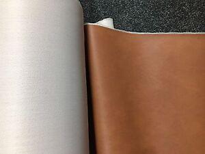 Cuadrados De Cuero Real Marrón Oscuro 33cm X 33cm offcuts piezas Reparaciones Caseras