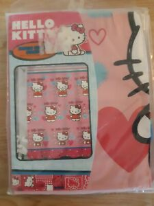 Hello Kitty Sanrio Fabric Shower Curtain Pink Bathroom Decor 70 in x 72 in