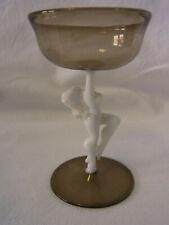 Vintage Lauscha Bimini Art Glass Nude Liqueur Glass  #^ 4
