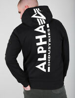 "ALPHA INDUSTRIES Kapuzen Sweatshirt ""Back Print Hoody"" 