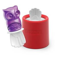 Zoku Ice Character Pop Mould, Oliver Owl, Red & White, ZK123-014