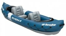 NEW Riviera Inflatable Kayak 2 Person, Kayak-shape Ensures Good Glide