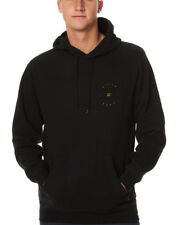 "NEW + TAG BILLABONG MENS ""AWAKE"" (L) HOODED JUMPER HOODIE FLEECE PULLOVER BLACK"