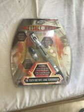 10th Doctor Who Sonic Screwdriver Light & Sound Electronic Toy Bnib