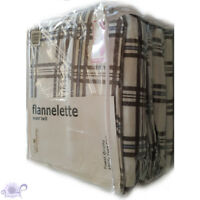 Barnaby Fawn Flannelette Sheet Set 100% Cotton | Thick Super Twill | Double