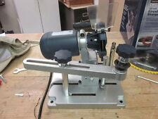 Circular Saw Blade Sharpener - 120 Volt - with diamond & emory wheels Universal
