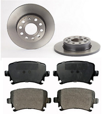 VW Jetta MK 3 III 1.4 1.6 1.9 2.0 2.5 Pad Set And Rear Brake Discs 2005-2010