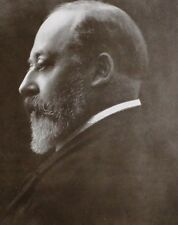 1911 PRINT KING EDWARD VII PHOTOGRAPHIC STUDY OF THE KING BY BARON DE MEYER