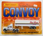 1984 Matchbox Convoy Kenworth Aerodyne WHITE / PAUL ARPIN VAN LINES