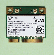 Intel Centrino Advanced-N6200 Model:622ANHMW Mini- PCIe 802.11a/b/g/n  02GGYM