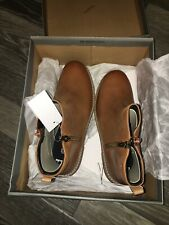 New Tan Brown Leather Clarks Frankie Roam Ankle Boots 6 F Adults New Boxed