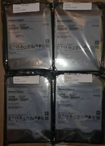 WD Ultrastar 12TB DC HC520 SATA 6GB/s  HDD for CCTV PC DVR 7200RPM 256MB