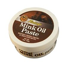 Fiebing Mink Oil Paste, 6 Oz.- Softens, Preserves and Waterproofs Smooth Leather