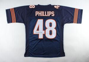 "Reggie Phillips Signed Chicago Bears Jersey Inscribed ""SB XX"" (JSA COA)"