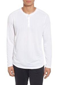 Under Armour Men's White UA Threadborne Henley Long Sleeve Shirt
