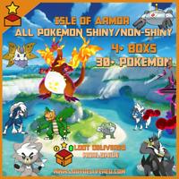 Pokemon Sword and Shield | Pokedex Isle Of Armor Completion Service